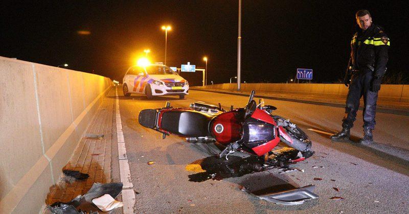 Motorrijder gewond na aanrijding met auto in Leidsche Rijn1_foto_112mediautrecht