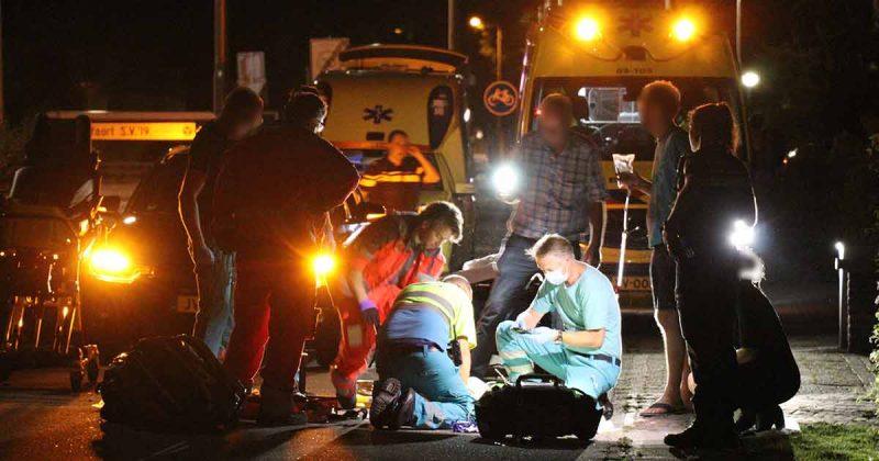 Omwonenden vinden zwaar gewonde vrouw met skeelers op straat_3_foto_112mediautrecht