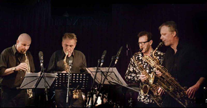 Saxofoonkwartet Koh- I- Noor in de Metaal Kathedraal