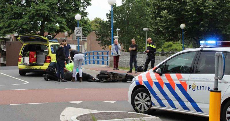Scooterrijder-geschept-door-auto-in-De-Meern3-foto_112mediautrecht