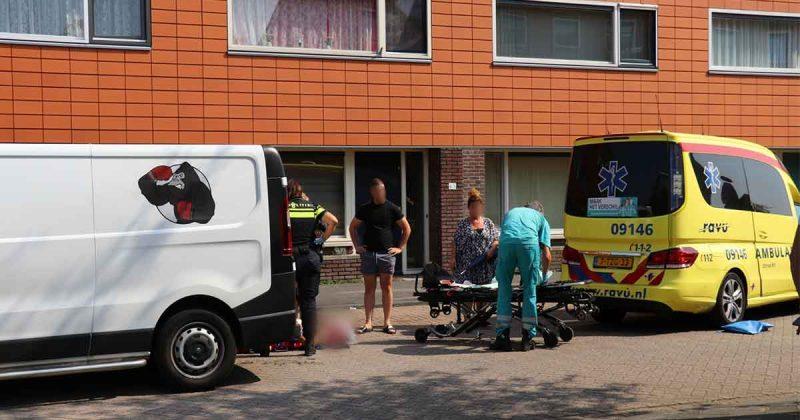 Scooterrijder-gewond-na-botsing-met-bestelbus-in-Parkwijk_foto_112mediautrecht
