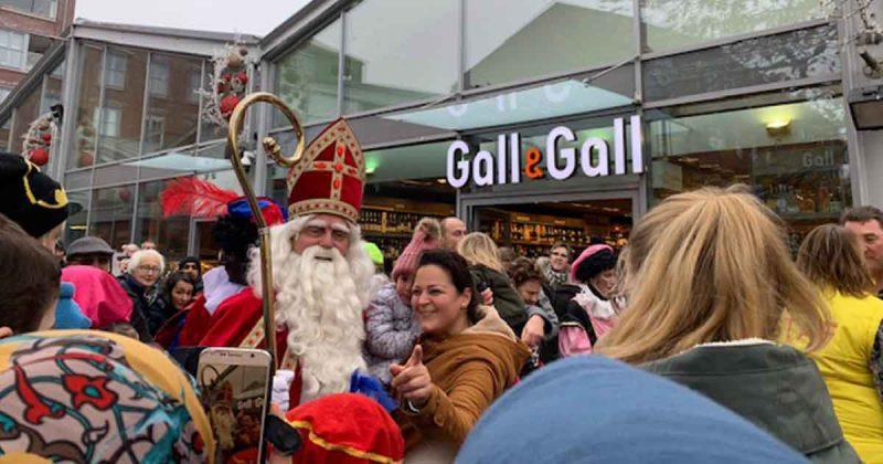 Sinterklaas in Parkwijk Leidsche Rijn (Utrecht)