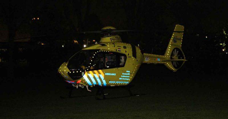 Traumahelikopter-inzet-na-val-van-trap2_foto_112mediautrecht