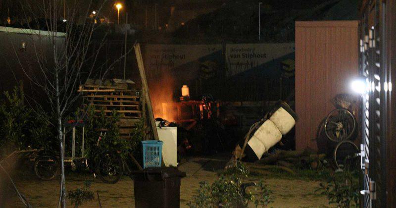 afval brand bij Place2BU_4_foto_112mediautrecht