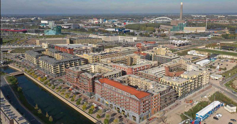 leidsche rijn centrum luchtfoto