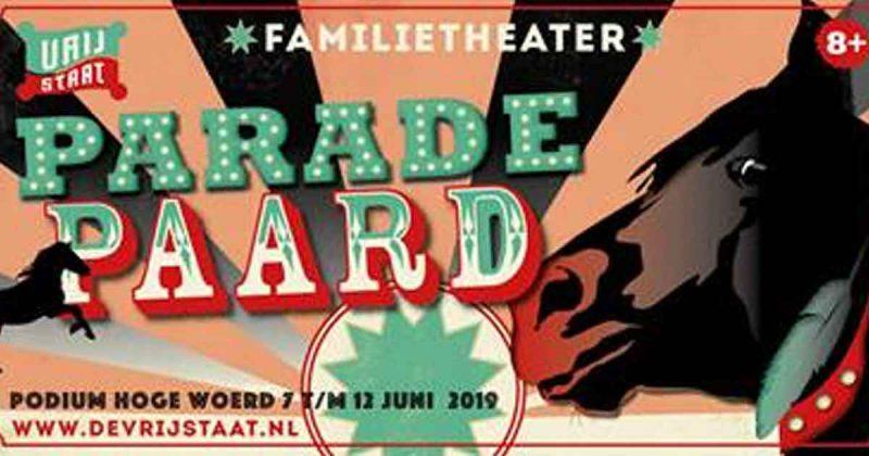 parade paard - De Vrijstaat