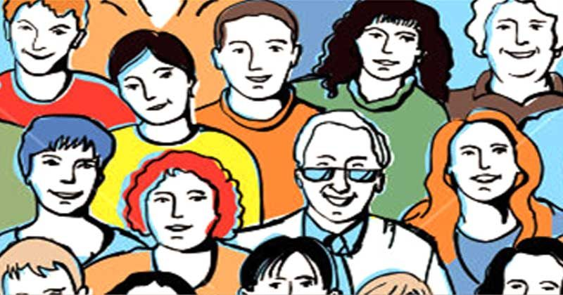 social mensen bewoners