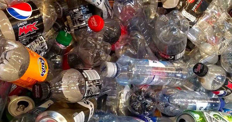 statiegeld plastic afval